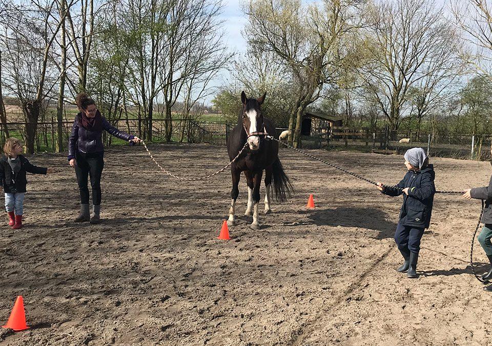 coaching met kinderen in groep
